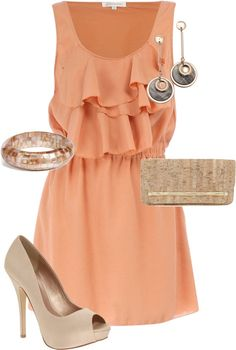 perfect summer outfit for dressing up or pairing with sandals for more casual!