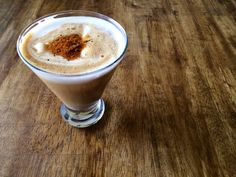 Spicy Chai Affogato  Ingredients: 1 Nescafe Dolce Gusto Chai Tea Latte, 1/2 cup scoop French vanilla ice cream, 1.5 oz spiced rum, Dash cayenne pepper, Crack of fresh black pepper  Directions: Add ice cream and spiced rum into a glass and pull one Nescafe Dolce Gusto Chai Tea Latte over it, then top with a dash of cayenne pepper and a crack of fresh black pepper.   Result: a grown-up spicy creamy boozy sipper -- no blenders necessary. Via @alieandgeorgia
