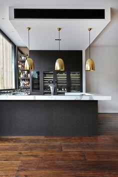 Davis-St-New-Age-Veneers-Bookmarc- Product- Navlam Sandblasted™ Arcadian Oak Designer - Austin Design Melbourne - Joinery by Precision Cabinets. Read more on http://www.bookmarc.com.au/blog/navlam-arcadian-oak-south-yarra-residence/