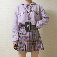 Fashion Tips Outfits .Fashion Tips Outfits Kawaii Fashion, Cute Fashion, Look Fashion, Teen Fashion, Fashion Outfits, Purple Fashion, College Fashion, Classy Fashion, Modest Fashion