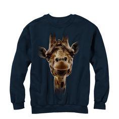 Lost Gods - Giraffe Adult Crewneck Sweatshirt