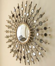 """Kimani Sunburst"" Mirror from Horchow"