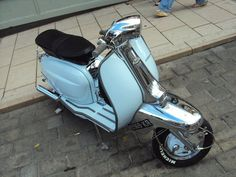 Lambretta scooter at the Isle Of Wight scooter rally 2010 # # #