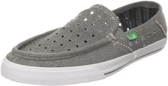 Sanuk Womens Standard Holy Moly SlipOnGrey7 M US >>> Click on the affiliate link Amazon.com on image for additional details.