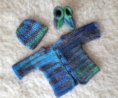 hakelmuster-babyweste-babyweste-hakelbabyweste-babyweste-haken-essstabchen/ - The world's most private search engine Crochet For Kids, Diy Crochet, Crochet Baby, Baby Patterns, Crochet Patterns, Tunisian Crochet, Baby Born, Baby Cardigan, Newborn Outfits