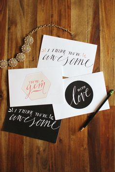Free Printable: Valentine's Day cards