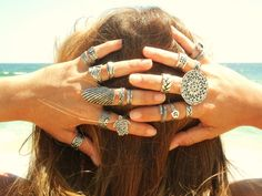 For the BEST in Boho Chic Jewelry see HappyGoLicky's collection of Bohemian Rings on www.HappyGoLickyJewelry.com
