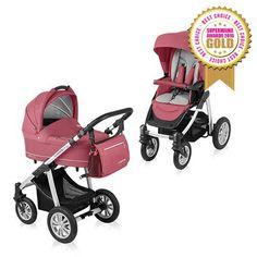 Baby Design Lupo Comfort 2:1 multifunkciós babakocsi 2015 Pink