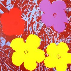 View Flowers F. 71 by Andy Warhol on artnet. Browse more artworks Andy Warhol from Robin Rile Fine Art. Andy Warhol Flowers, Andy Warhol Pop Art, Art Floral, James Rosenquist, Art Commerce, Modern Pop Art, Robert Rauschenberg, Morning Flowers, New York