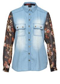 chambray cherub shirt