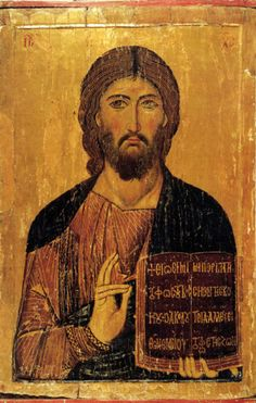 icon of Sinai Christ Pantocrator Christ from the Grand Deeisis, St Catherine's monastery, Sinai Religious Images, Religious Icons, Religious Art, Byzantine Icons, Byzantine Art, Christus Pantokrator, Saint Catherine's Monastery, Web Gallery Of Art, Christian Art