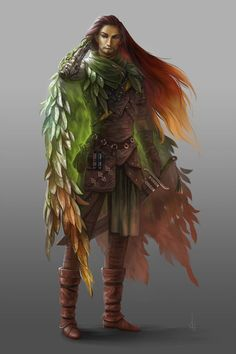 Ictus Kael - High Elven Druid born in Vari, moved to Lebriem to aid in the war until he was injured (limp, sp. he now lives as a Lightie (light-job mercenary) in the Capitol of Ufrein. Dark Fantasy, Fantasy Rpg, Medieval Fantasy, Dungeons And Dragons Characters, Dnd Characters, Fantasy Characters, Fantasy Character Design, Character Design Inspiration, Character Art