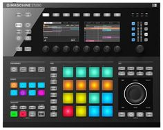 £470 Image: Native Instruments Maschine Studio Controller in Black