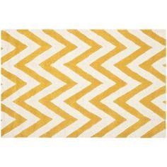 Safavieh Cambridge Chevron Wool Rug, Gold