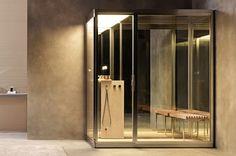 #Wellness #Détente #Home #Spa #Relaxing #Relaxation #Bathroom #Homestyle #Zen #Spa #Sauna Spa Design, Home Design, Carrara, Chromotherapy, Turkish Bath, Bathroom Design Luxury, Steam Room, Luxury Spa, Home Spa