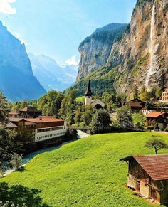 Lauterbrunnen, Switzerland Currency: Swiss Francs  Photo by instagram.com/mygreatescapes