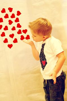 Pixie Chicks: Happy Valentine's Day Photo Idea for Cards...{luv the tshirt idea too!}