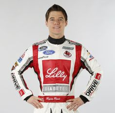 Ryan Reed. He is a nice young man and driver.