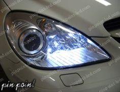 信頼の日亜化学工業LEDを使用。SLK-Class(R171)専用LEDポジションランプ http://www.pinpoint-led.com/product/21
