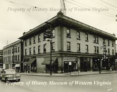 1940s photograph of the Lee Hotel in Roanoke, Virginia. From the History Museum of Western Virginia.