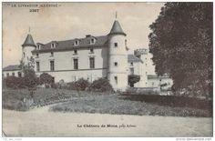 Frankreich - 63 - Chateau de Mons, près Arlanc