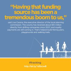Fracking is boosting local economies across the country.