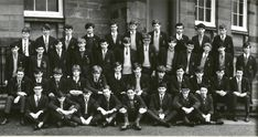 John Neilson Secondary IV Boys 1967 | May 1967, outside the … | Flickr Paisley Scotland, Back Row, School Building, Places Of Interest, Facial Expressions, The Row, The Outsiders, Concert, Boys