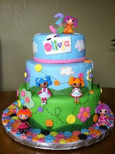 Lalaloopsy Cake love love love!  Riley's 4th Birthday
