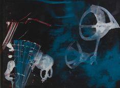 Katharina Prantl, Am Meeresgrund, Mischtechnik auf Leinen, 140 x 190 cm, 2016