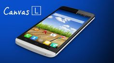 Micromax Canvas L with 5.5-inch display and Android Kitkat available online for Rs. 10,499