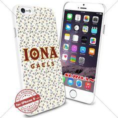 New iPhone 6 Case Iona Gaels Logo NCAA #1199 White Smartphone Case Cover Collector TPU Rubber [Anchor] SURIYAN http://www.amazon.com/dp/B01504GJAU/ref=cm_sw_r_pi_dp_wNJxwb1ZEV9G2