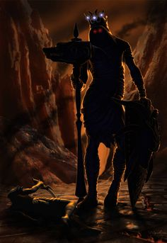 Morgot by ivanalekseich Watch Report Digital Art / Drawings & Paintings / Illustrations Morgoth, Dark Elf, Jrr Tolkien, Dark Lord, Movie Photo, Sci Fi Fantasy, Middle Earth, Lord Of The Rings, Lotr
