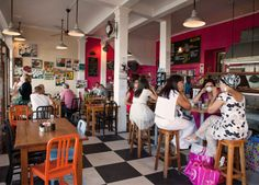St James & Kalk Bay - so many cafes to choose from! #Africa #SouthAfrica #CapeTown