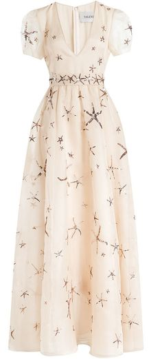 Olivia Palermo wore this starfish embellished Valentino Dress, and now it's all we want to wear to our next Spring wedding.
