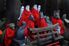 Shinto Inari Kitsune Shrine