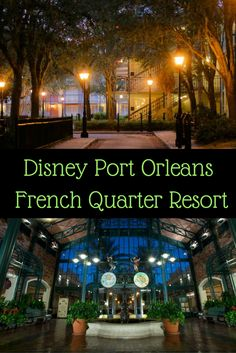 Must do's at Disney's Port Orleans French Quarter Resort! Don't miss out guide to Disney's Port Orleans French Quarter Resort.