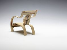 Creative Review - Business card that becomes a chair