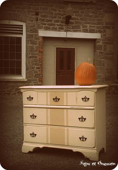 painted dresser idea