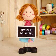 Boneca Menina @ BoniFrati  • Na lojinha pra você :) http://loja.bonifrati.com.br
