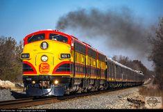 "Kansas City Southern ""Starling Express"" (Train B-KCSH) heading southbound near MP 69 at Amoret, MO on 11-14-16"