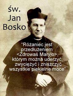 św. Jan Bosko (+1888) Soul Quotes, God Loves You, Better Life, Gods Love, Catholic, Love You, Faith, Christian, Thoughts