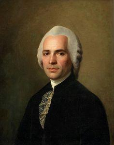 Portrait d'un gentilhomme avec une cravate en dentelle, par Alexander Roslin
