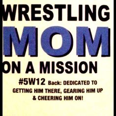 Newbie to the wrestling scene. But I can promise these three thing! Wrestling Mom Shirts, Wrestling Rules, Mother Quotes, Mom Quotes, Quotes To Live By, Best Wrestlers, Sports Mom, Play Soccer, Favorite Words