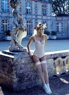 Bruno Dayan Captures The Lou Lingerie Aristocracy For Fall2015/6