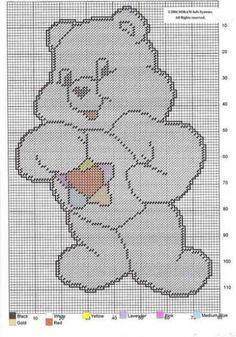 True Heart Bear (fur color=1 multi-pastel (toy); 2 pastel yellow (original series) or 3 pastel pink (2007-2008 onward)