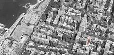 Cour privée sur Remsen Street, Brooklyn Heights, New York
