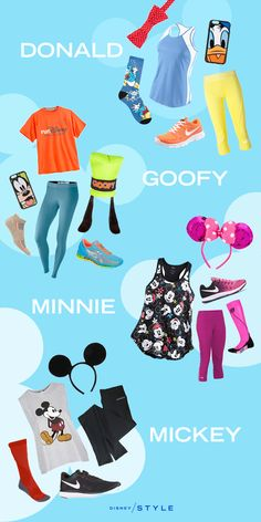 """For#NationalRunningDay, we've got some Mickey & Friends outfit sets that will have you saying """"Oh boy!"""""""