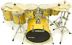 "Bateria Yamaha Stage Custom Birch Natural Lacquer 20"",8"",10"",12"",14"",16"" (Shell Pack) : DEPARTAMENTOS - Baterias - Acústicas : Batera Clube : A 1ª Drum Shop Online do Brasil"