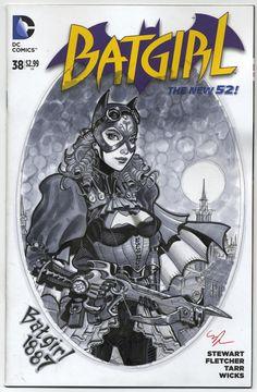 Batgirl+1887+by+MichaelDooney.deviantart.com+on+@DeviantArt