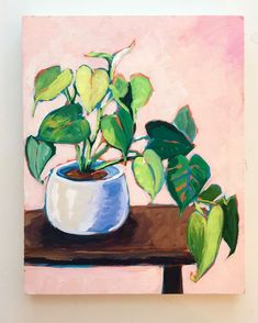 Leafy and luscious 🌿🌿🌿 . Nature, Artist, Flowers, Plants, Pink, Ebooks, Painting, Website, Instagram